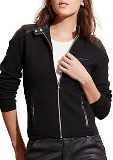 Lauren Jeans Co. Stretch Cotton Moto Jacket