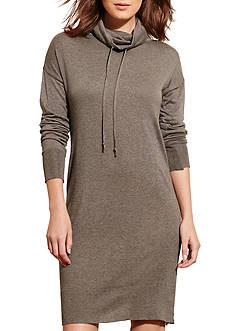 Lauren Jeans Co. Jersey Funnelneck Dress