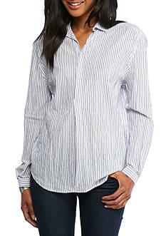 Joe's Dana Striped Shirt