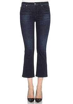 Joe's Olivia Mid Rise Cropped Flare Jeans