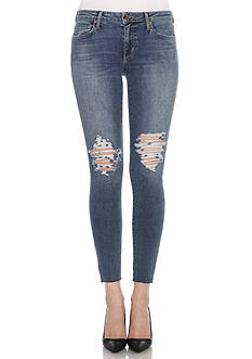 Joe's Destructed Icon Ankle Midrise Skinny Jeans