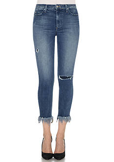 Joe's Charlie High Rise Frayed Hem Jean