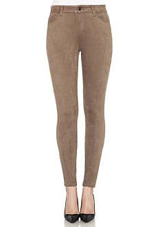 Joe's Faux Suede Ankle Skinny Pants