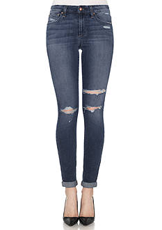 Joe's Destructed Roll Ankle Skinny Jeans