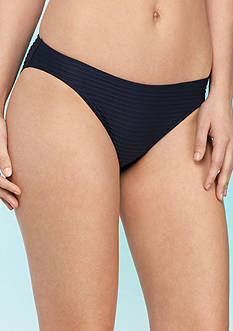 MICHAEL Michael Kors Graphic Rib Classic Swim Bottom