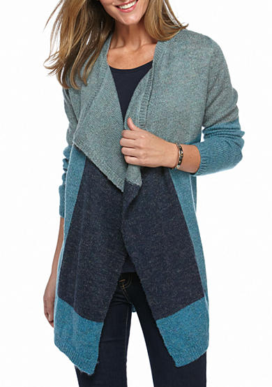 New Directions® Colorblock Cardigan