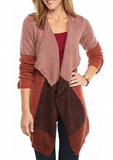 New Directions Colorblock Cardigan