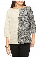 New Directions® Colorblock Dolman Sweater