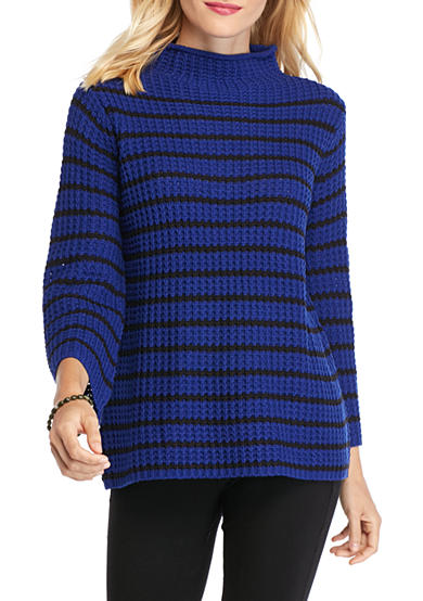 New Directions® Stripe Thermal Stitch Sweater