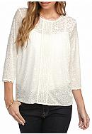 New Directions® Petite Three-Quarter Sleeve