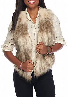 Me Jane Basic Fur Vest
