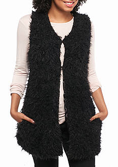 Me Jane® Long Faux Fur Vest