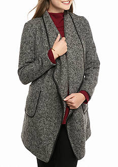 Me Jane Drape Open Coat