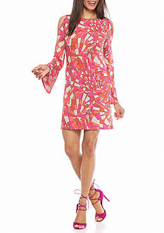 TRINA Trina Turk Deon Cold Shoulder Dress
