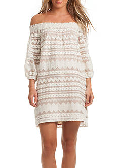 TRINA Trina Turk Hoku Off The Shoulder Dress