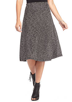 New Directions Pull-on Boucle Skirt