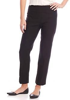 New Directions Petite Pull-On Millennium Ankle Slim Leg Pants