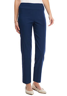 New Directions Petite Solid Millennium Pull-On Pant