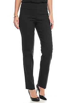 New Directions Jacquard Millennium Pull-on Pants