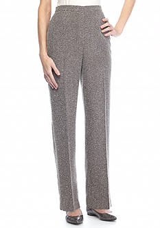 New Directions Millenium Sketchy Plaid Ankle Pant