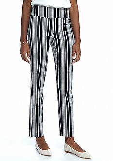 New Directions Millennium Stripe Ankle Pant
