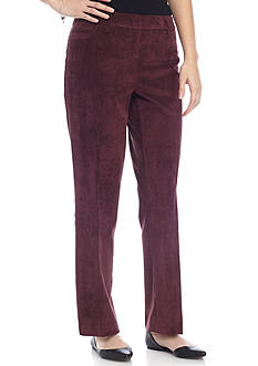 New Directions Petite Corduroy Pants