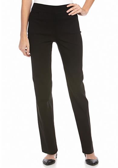 New Directions® Petite Pull on Faux Pocket Pants