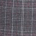 New Directions Petites Sale: Gray/Berry/Magenta New Directions Petite Size Fordham Plaid Pants