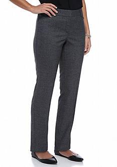 New Directions Petite Size Slim Leg Pants