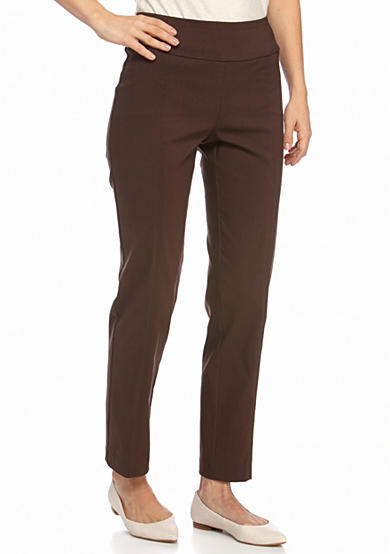 New Directions® Pull On Slim Leg Millennium Pants