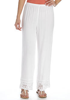 New Directions Petite Lined Pull-On Soft Pants