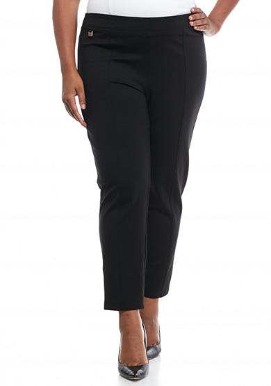 New Directions® Plus Size Compression Pull-On Leggings