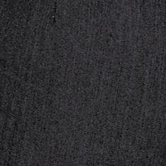 Plus Size Casual Pants: Black New Directions Plus Size Denim Elastic Pants