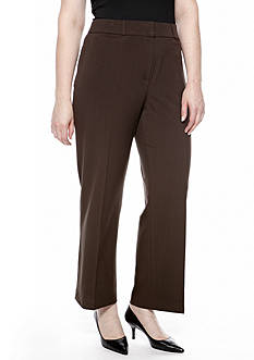 New Directions Plus Size Bi-Stretch Pant