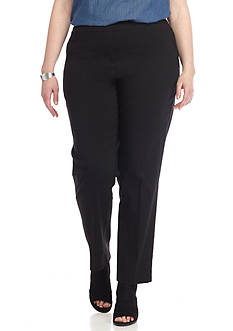 New Directions Plus Size Millennium Pull-On Pants