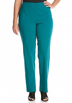 New Directions Plus Size Pull-On Millennium Pant