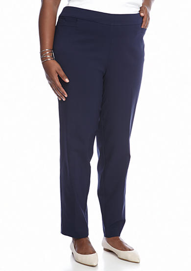 New Directions® Plus Size Pull-On Millennium Pant