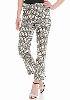 New Directions® Medallion Pull On Crop Pants
