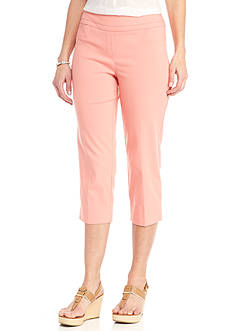 New Directions® Solid Millennium Pull-On Slim Leg Pant