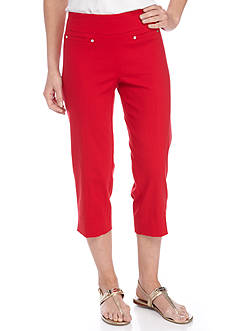New Directions Millennium Pull-On Slim Leg Crop Pant