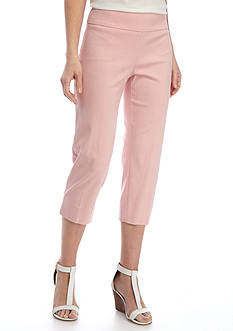 New Directions® Solid Millennium Pull-On Crop Pant