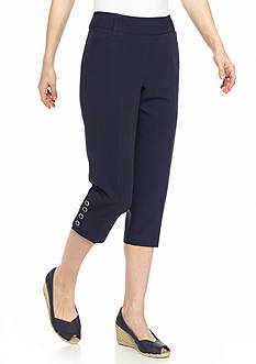 New Directions® Petite Pull-On Crop Pants