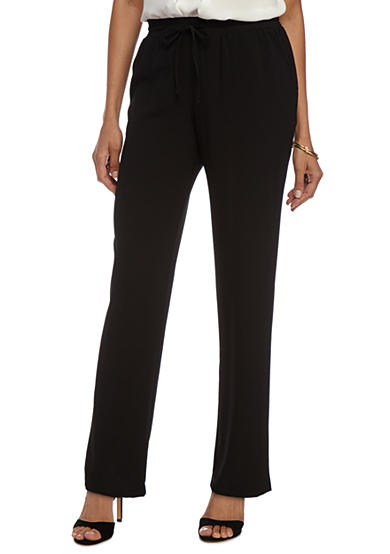 New Directions® Drawstring Stretch Pants