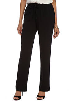 New Directions Drawstring Stretch Pants