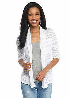 New Directions® Petite Knit Cozy Cardigan