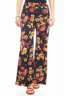 New Directions® Petite Floral Print Soft Pants