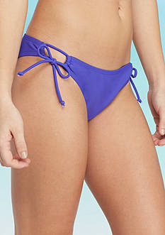 Red Camel® Solid Side Tie Hipster Swim Bottom