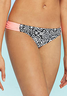 Red Camel® Myan Patch Side Tab Hipster Swim Bottom