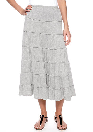 Sophie Max Tiered Maxi Skirt