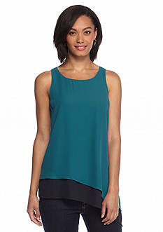 Sophie Max Sleeveless Double Layer Tank